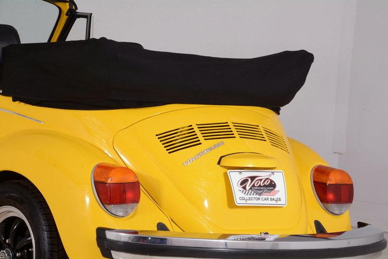 1974 Volkswagen Super Beetle Image 45