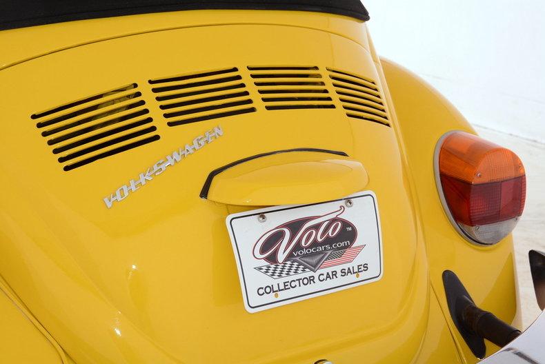 1974 Volkswagen Super Beetle Image 48