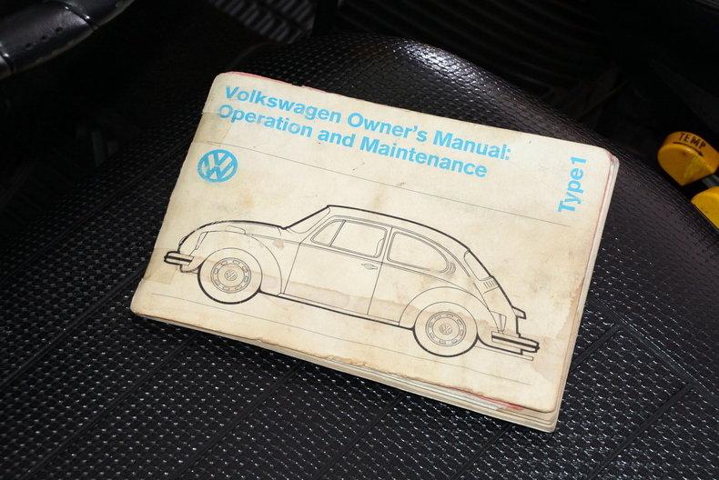 1974 Volkswagen Super Beetle Image 63