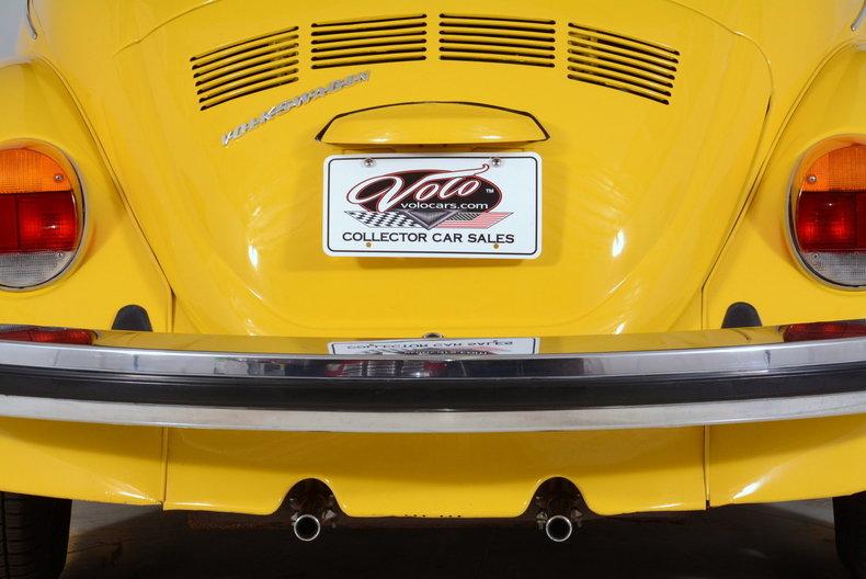 1974 Volkswagen Super Beetle Image 74