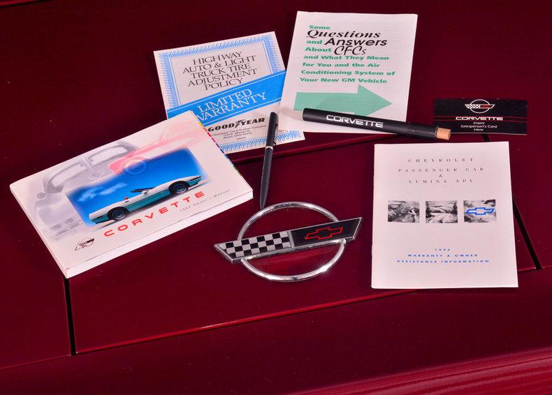 1993 Chevrolet Corvette Image 90