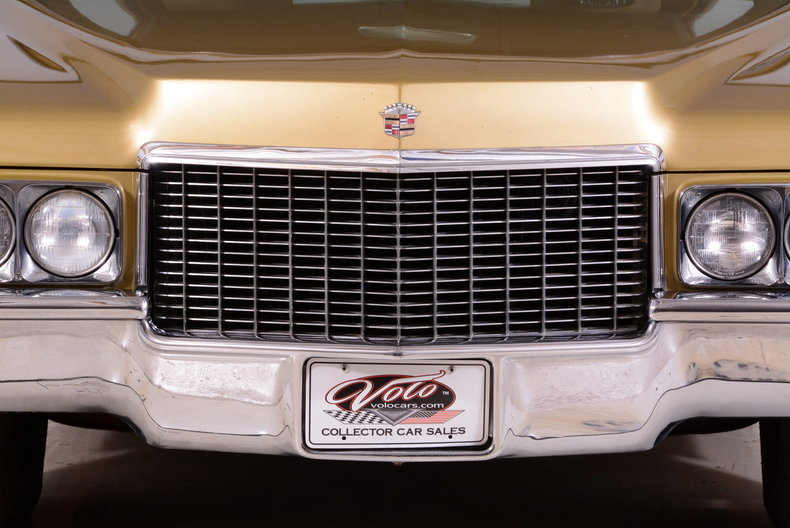 1970 Cadillac Sedan deVille Image 9