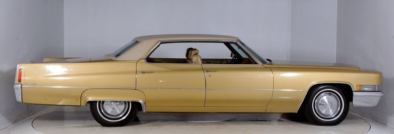 1970 Cadillac Sedan deVille Image 17