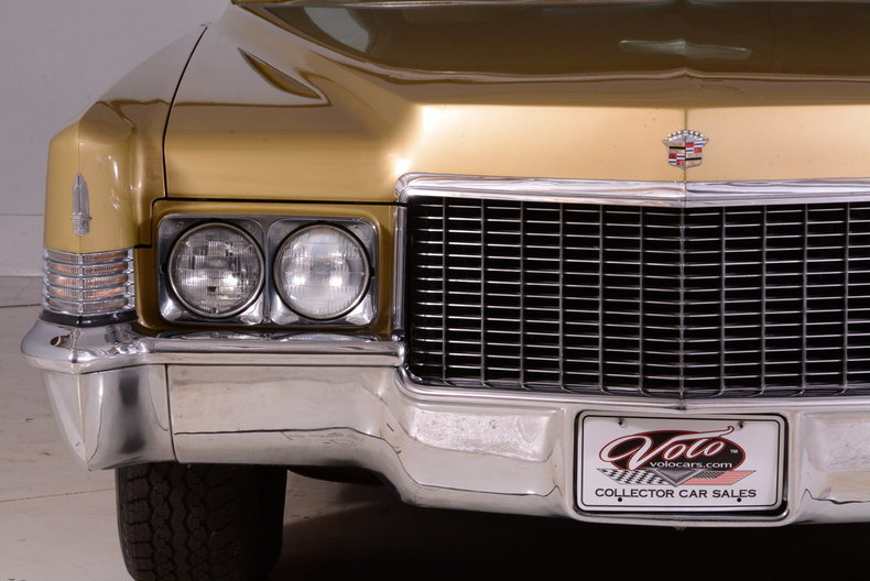 1970 Cadillac Sedan deVille Image 26