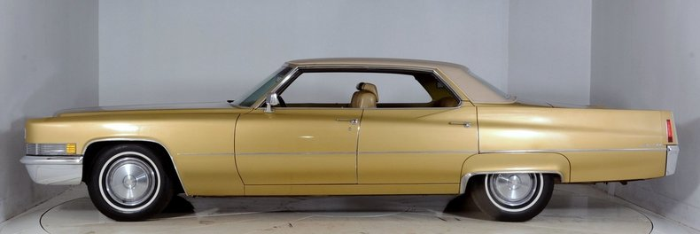 1970 Cadillac Sedan deVille Image 41