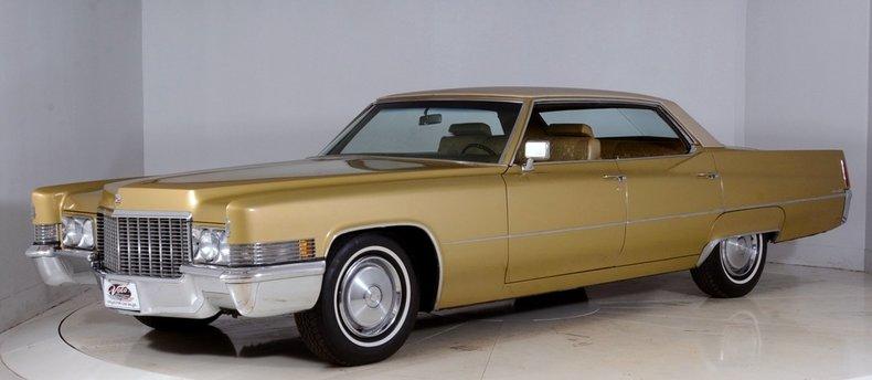 1970 Cadillac Sedan deVille Image 49