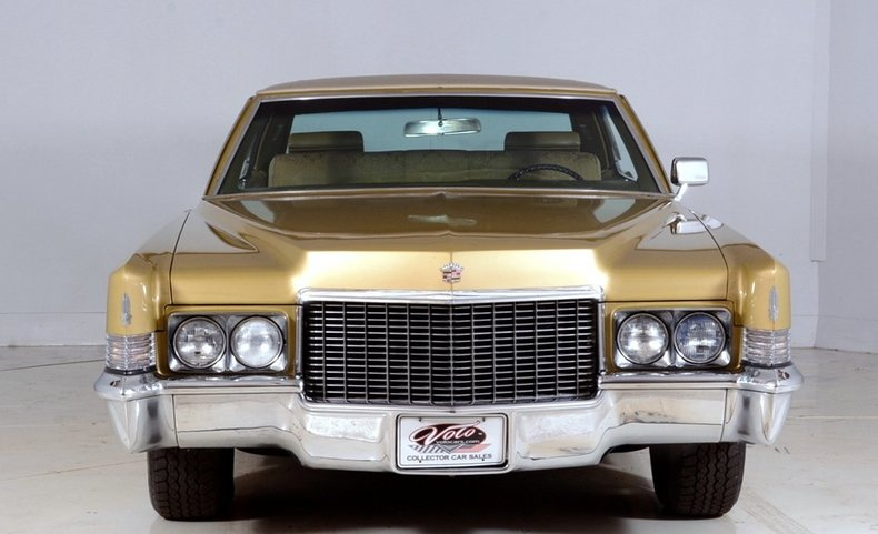 1970 Cadillac Sedan deVille Image 57
