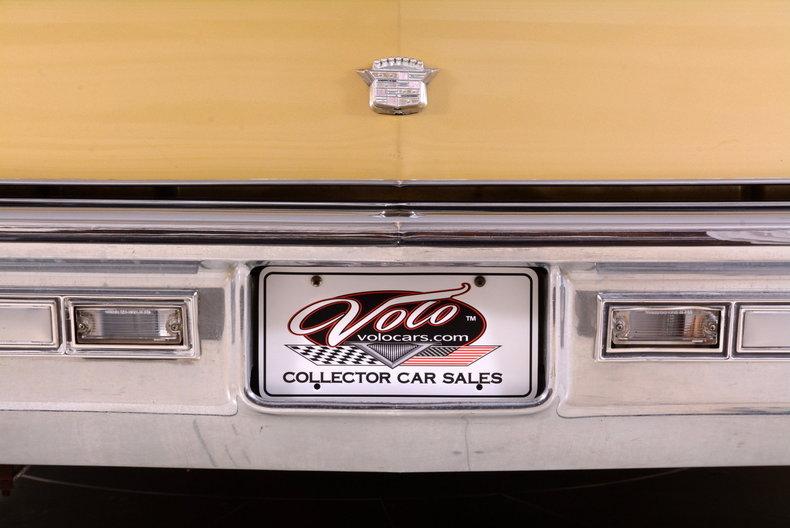 1970 Cadillac Sedan deVille Image 59