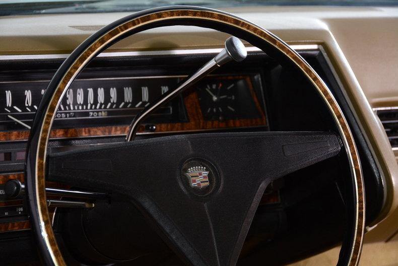 1970 Cadillac Sedan deVille Image 62