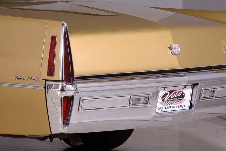 1970 Cadillac Sedan deVille Image 70