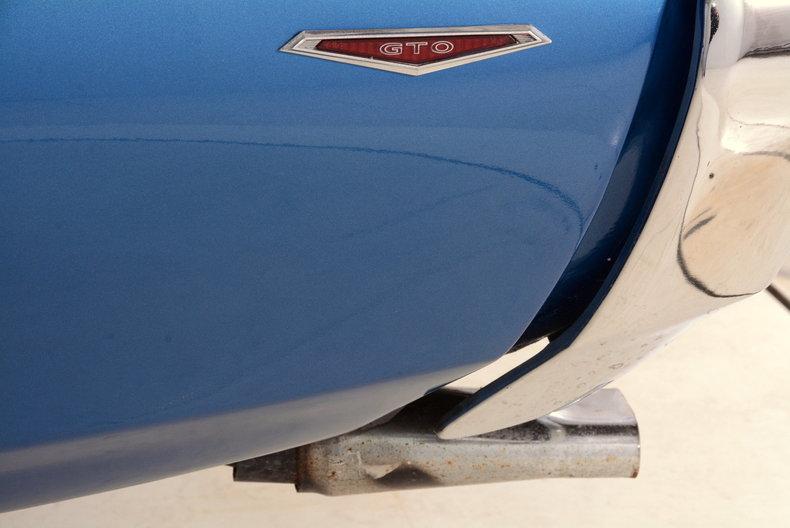 1969 Pontiac GTO Image 11