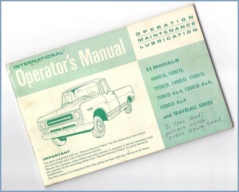 1969 International Harvester Travelall 1000 Image 89