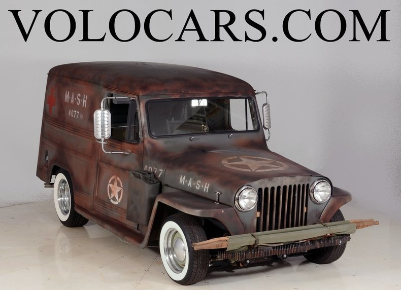 1948 Willys Panel Wagon Image 1