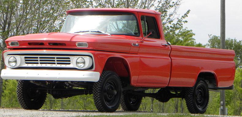 1962 Chevrolet K10 Image 4