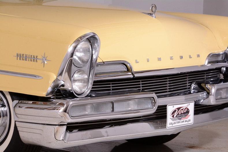 1957 Lincoln Premiere Image 67