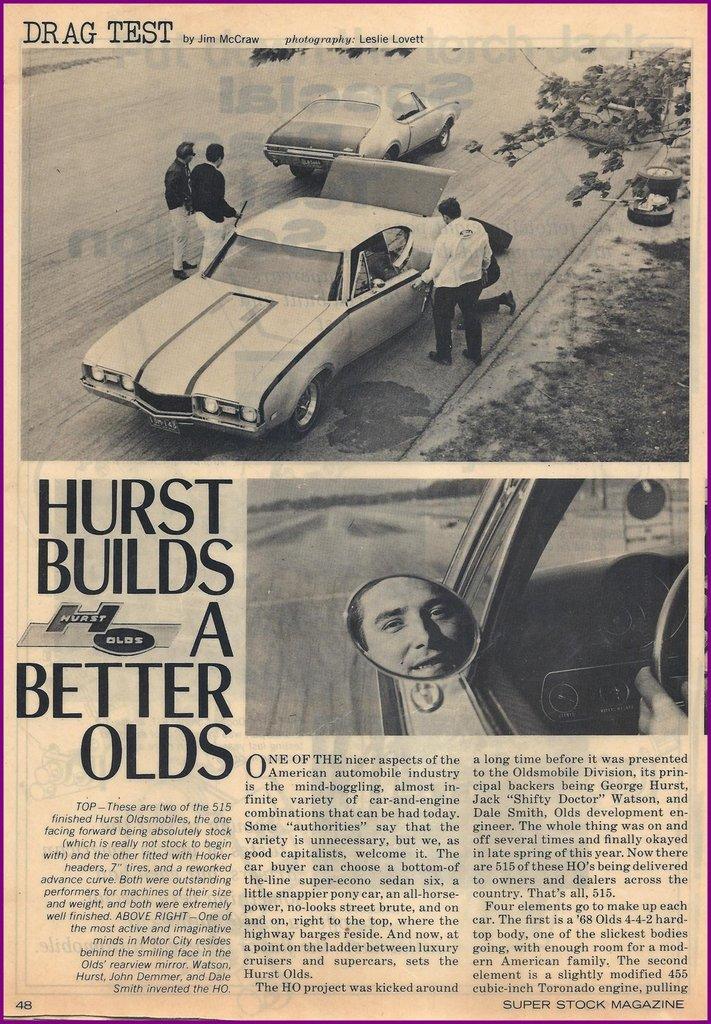 1968 Oldsmobile Hurst Image 75