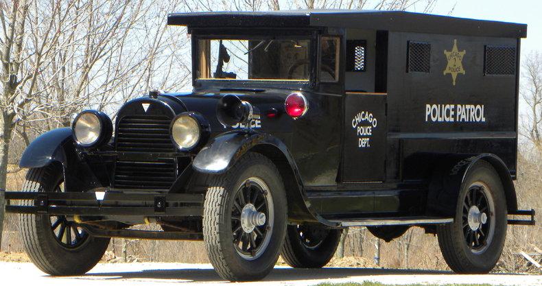 1923 Hudson Paddy Wagon Image 3