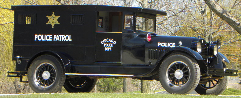 1923 Hudson Paddy Wagon Image 5