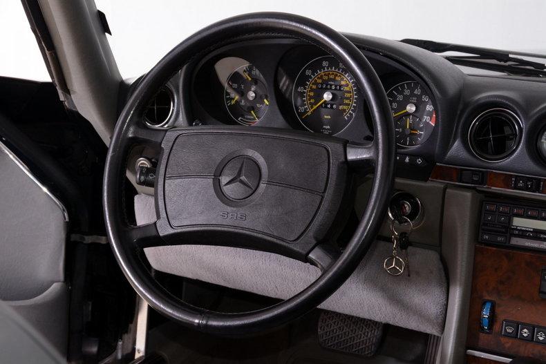 1986 Mercedes-Benz 560SL Image 9
