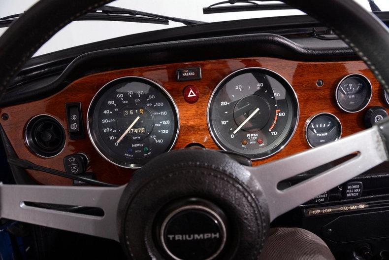 1976 Triumph TR6 Image 7
