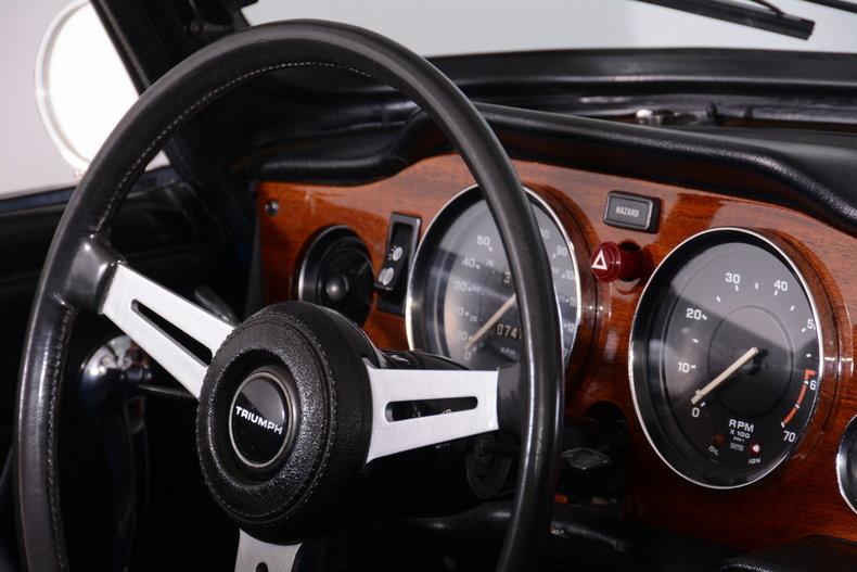 1976 Triumph TR6 Image 21