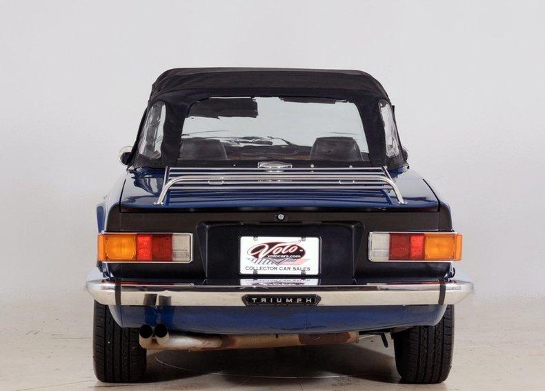 1976 Triumph TR6 Image 25