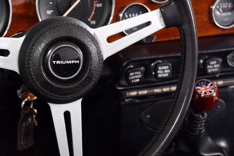 1976 Triumph TR6 Image 39