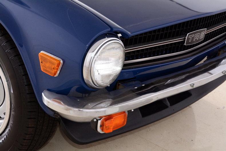 1976 Triumph TR6 Image 52