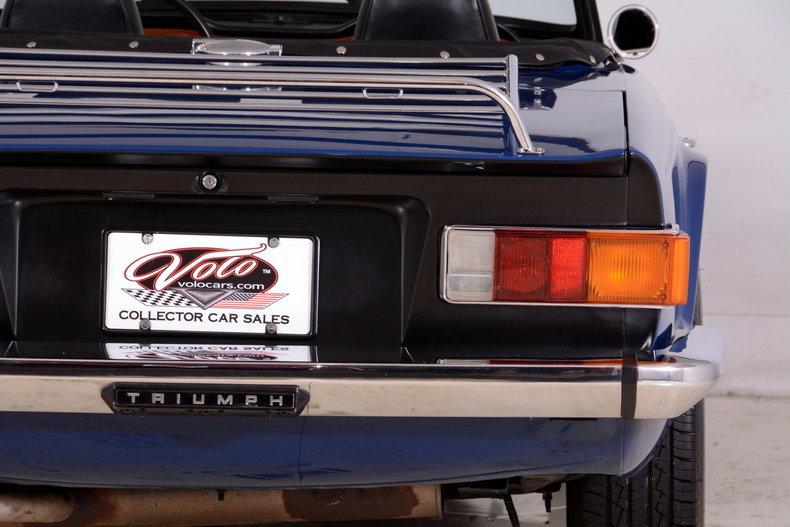 1976 Triumph TR6 Image 60