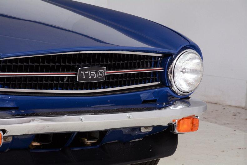 1976 Triumph TR6 Image 73