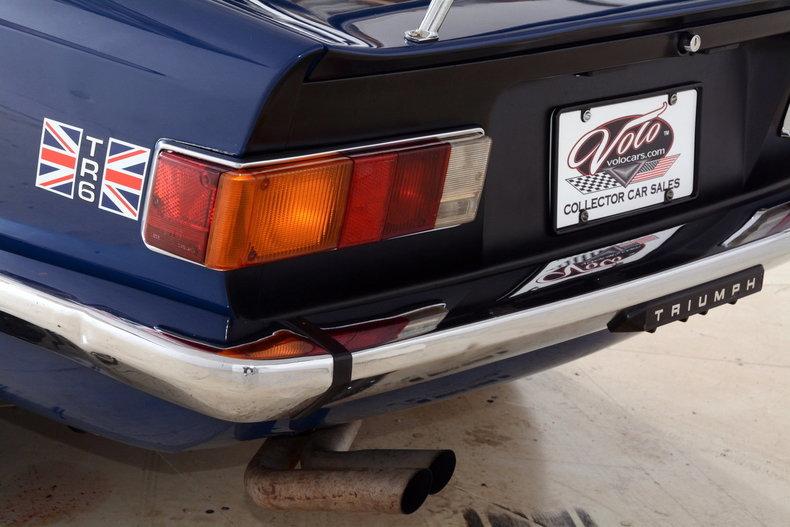 1976 Triumph TR6 Image 79