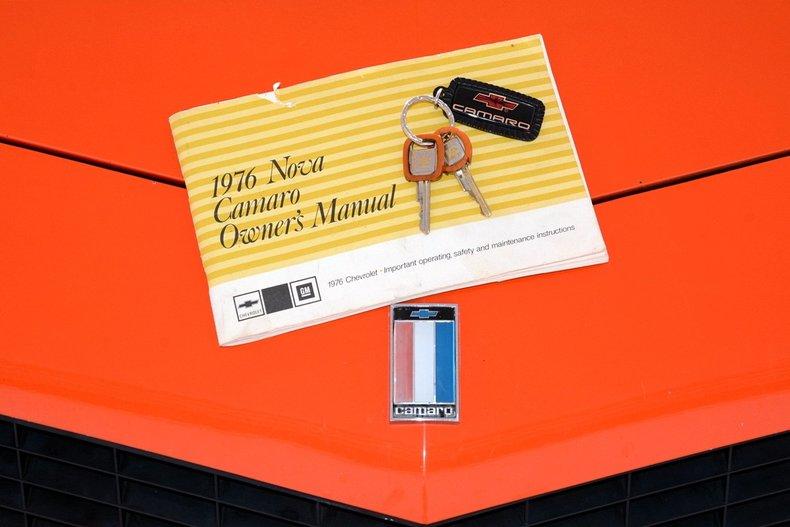 1976 Chevrolet Camaro Image 22