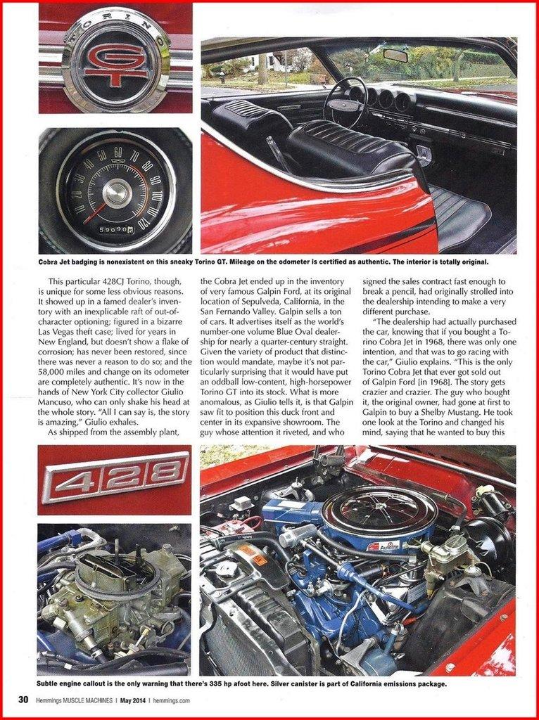 1968 Ford Torino Image 107