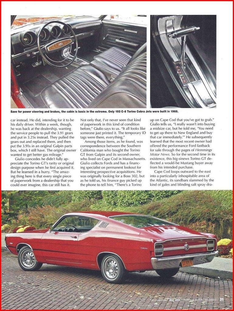 1968 Ford Torino Image 108