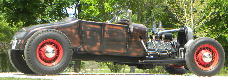 1927 Ford Street Rod Image 37