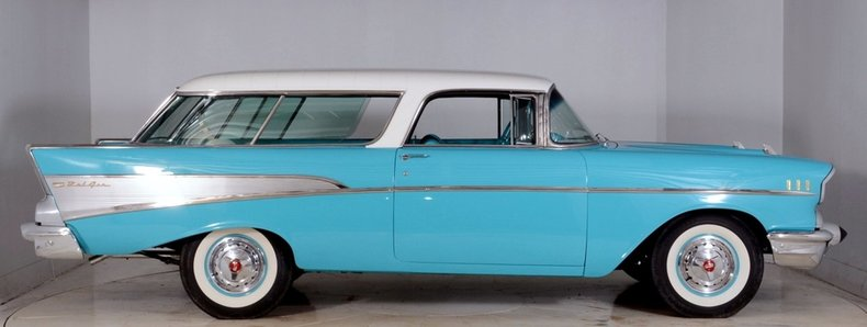 1957 Chevrolet Nomad Image 17