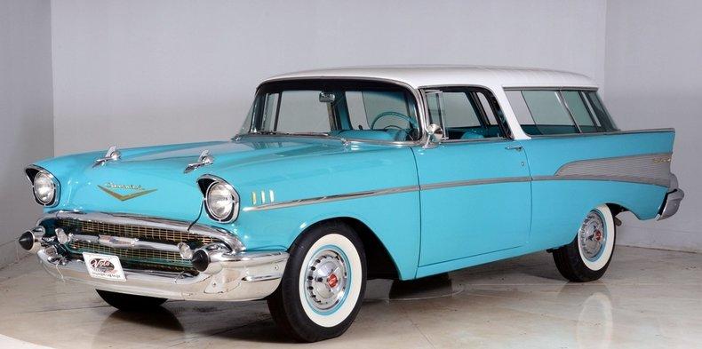 1957 Chevrolet Nomad Image 49