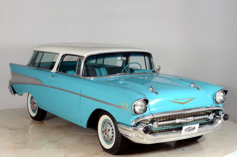 1957 Chevrolet Nomad Image 92