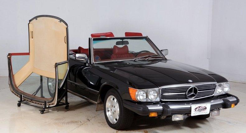 1976 Mercedes-Benz 450SL Image 88