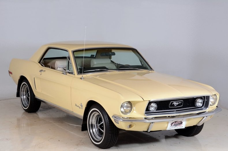 1968 Ford Mustang Image 93