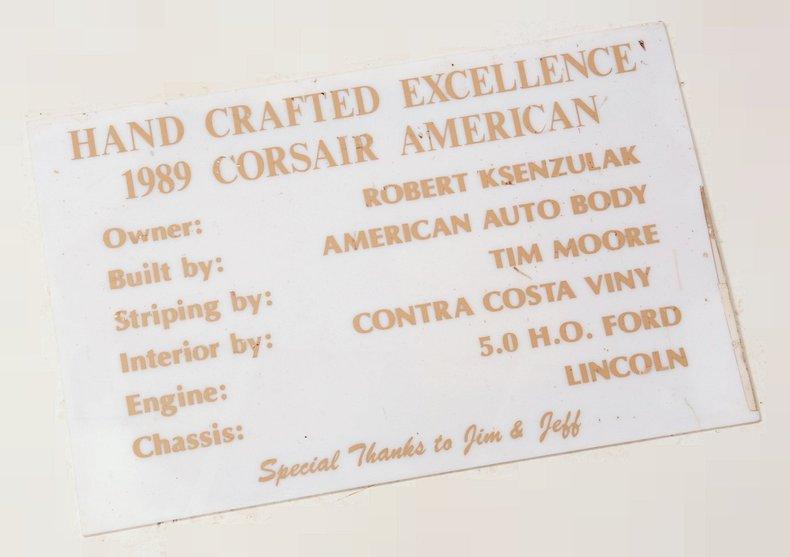 2000 Corsair Roadster Image 90