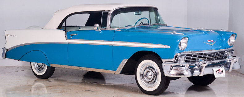 1956 Chevrolet Bel Air Image 34