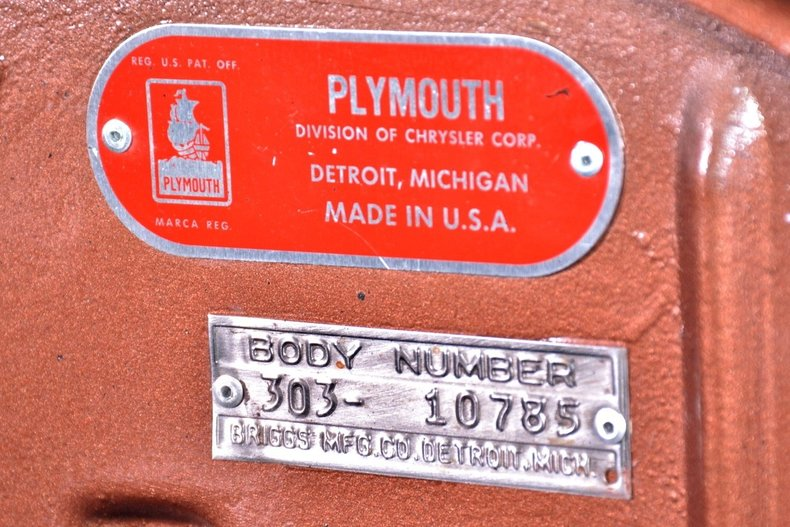 1953 Plymouth Belvedere Image 40