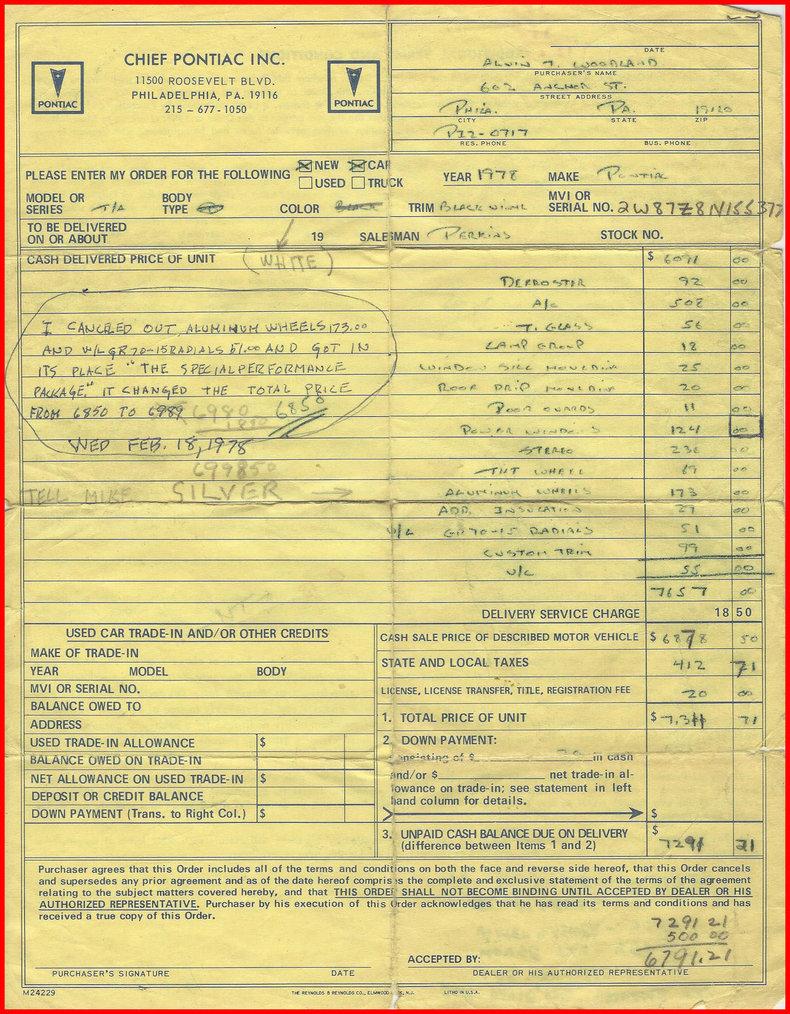 1978 Pontiac Trans Am Image 11