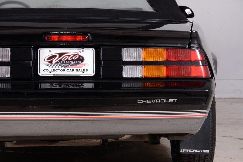 1987 Chevrolet Camaro Image 15