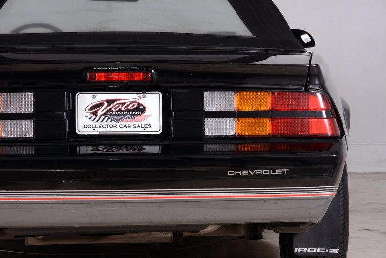 1987 Chevrolet Camaro Image 27