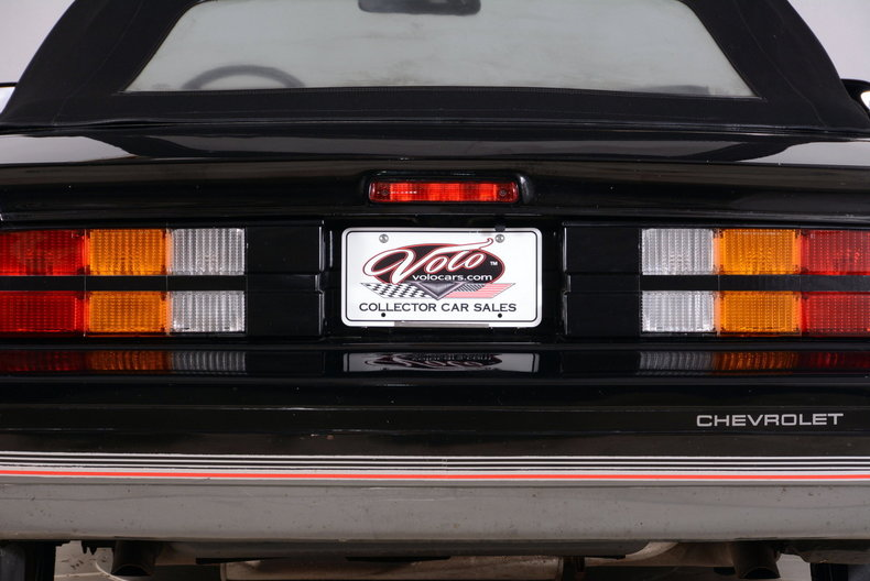 1987 Chevrolet Camaro Image 37