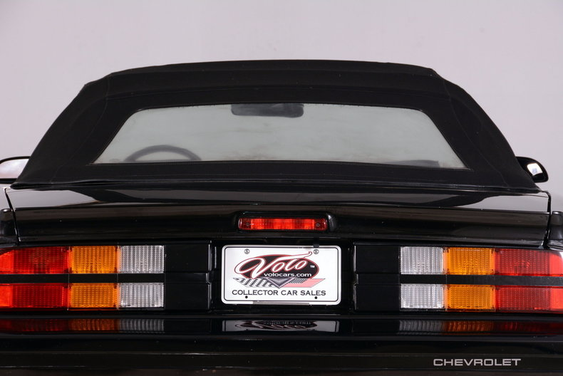 1987 Chevrolet Camaro Image 50