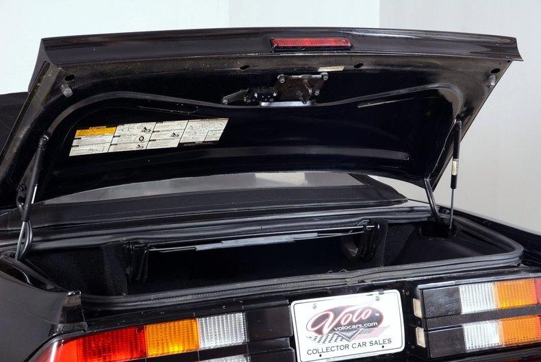 1987 Chevrolet Camaro Image 53