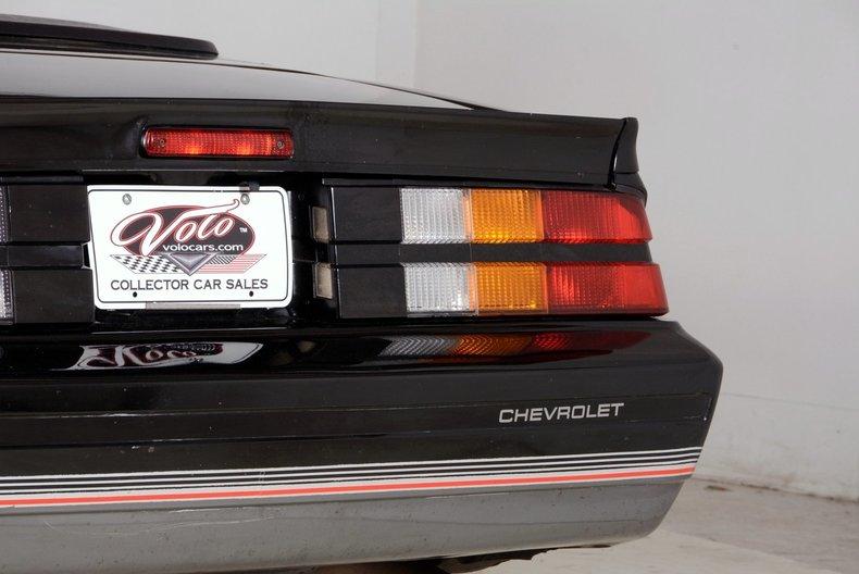 1987 Chevrolet Camaro Image 65